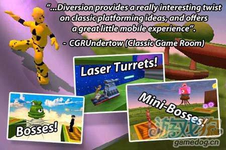 3D跑酷Diversion:绚丽的极限跑酷运动3