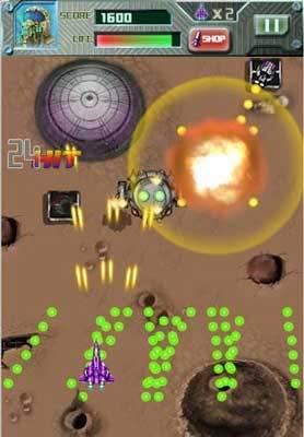 安卓弹幕射击游戏:雷电2013 翱翔在蓝天上的雄鹰1
