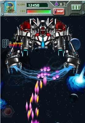 安卓弹幕射击游戏:雷电2013 翱翔在蓝天上的雄鹰2