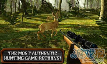 Glu狩猎游戏:猎鹿人重装上阵 猎手人生3
