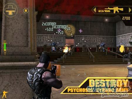 安卓科幻射击大作:缪斯 来一起激战吧4