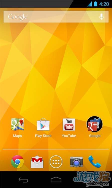 Android 4.2发布:新增了手势输入等一些重要功能5