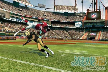 体育运动游戏:橄榄球竞赛NFL Rivals 劲爆橄榄球2