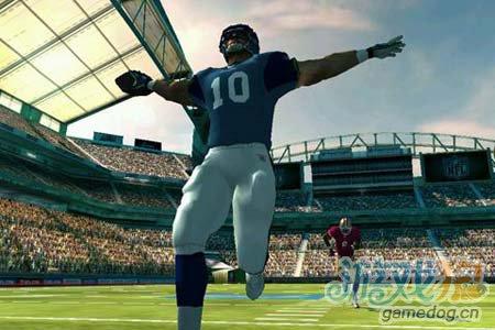 体育运动游戏:橄榄球竞赛NFL Rivals 劲爆橄榄球3