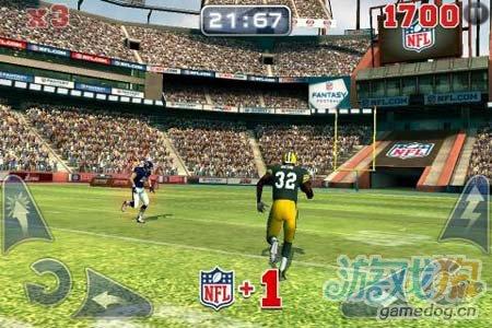 体育运动游戏:橄榄球竞赛NFL Rivals 劲爆橄榄球5
