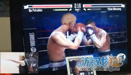 真实拳击情报更新Kinect式体感操作震撼公布1