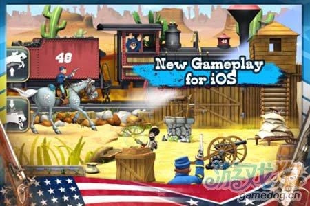 安卓休闲游戏:蓝衫军南北战争 坚持下去取得胜利2