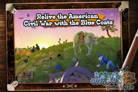 安卓休闲游戏:蓝衫军南北战争 坚持下去取得胜利5