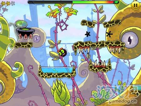 休闲闯关游戏:外星人Jumpster 弹弹虫的冒险故事1