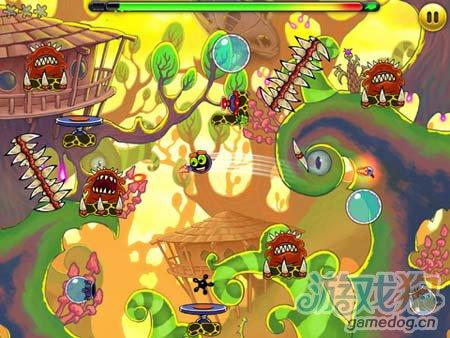 休闲闯关游戏:外星人Jumpster 弹弹虫的冒险故事2
