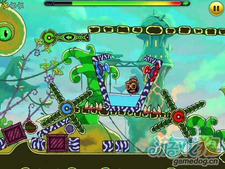 休闲闯关游戏:外星人Jumpster 弹弹虫的冒险故事3