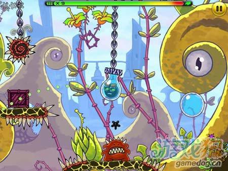 休闲闯关游戏:外星人Jumpster 弹弹虫的冒险故事4