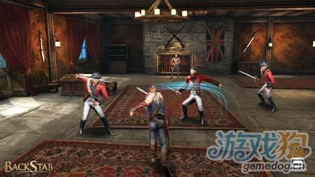 背刺中文版BackStab HD:安卓动作游戏2