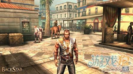 背刺中文版BackStab HD:安卓动作游戏3
