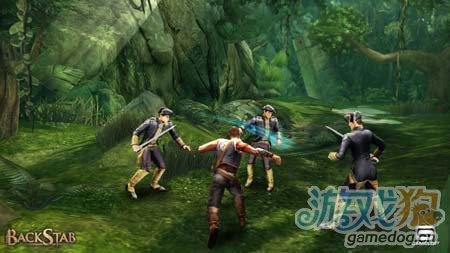 背刺中文版BackStab HD:安卓动作游戏4