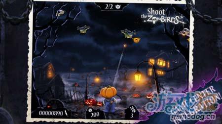 安卓游戏:大战僵尸鸟万圣节版 v1.09评测2