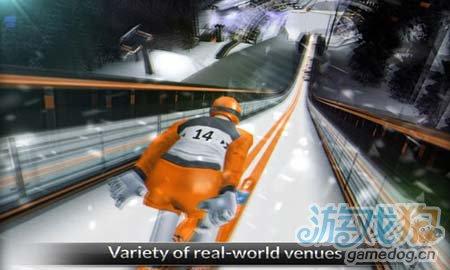 超级滑雪少年Super Ski Jump:v1.3.0评测1