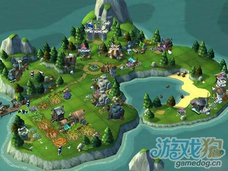 3D多人在线角色扮演游戏骑士冒险 将本周强势上线2