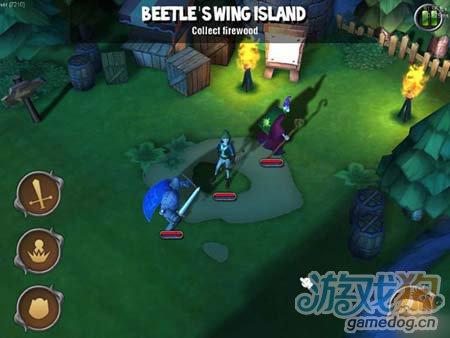 3D多人在线角色扮演游戏骑士冒险 将本周强势上线1