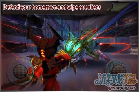 安卓射击佳作:星际战争外星入侵高清版2