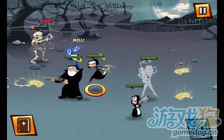 修女也疯狂Nun Attack:黑衣天使四人组的华丽演出4