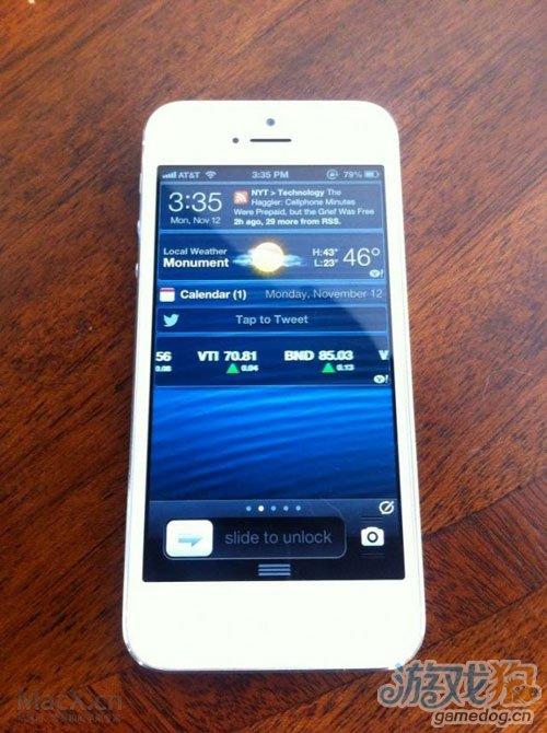 黑客放出图片iPhone 5 越狱获得重要进展