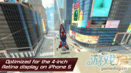 Gameloft动作佳作:超凡蜘蛛侠 感受电影般的冒险5
