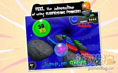 怪兽快跑Monster Up HD:一起开始疯狂跳跃之旅吧4