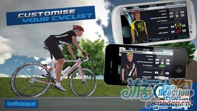 自行车大赛CRC Pro-Cycling:小清新风格自行车游戏3