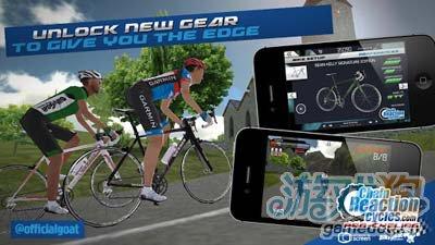 自行车大赛CRC Pro-Cycling:小清新风格自行车游戏4