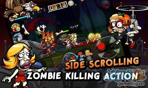 动作射击游戏:僵尸炮手Zombie Gunner 爽快就两字2