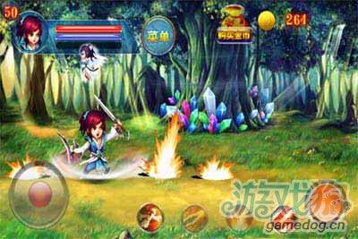安卓动作游戏大作仙剑传奇录将于11月22日耀世首发4