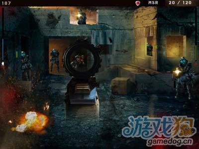 安卓射击游戏:杀戮之旅Overkill 枪火中的荣耀之战3