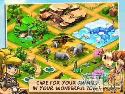 Gameloft佳作:奇趣动物园动物救助 v1.0.6安卓评测1