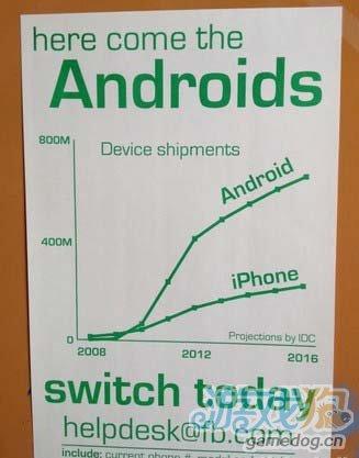 facebook呼吁员工放弃iPhone手机改用Android手机2
