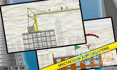 火柴人跳楼Stickman Base Jumper:v1.4安卓评测2