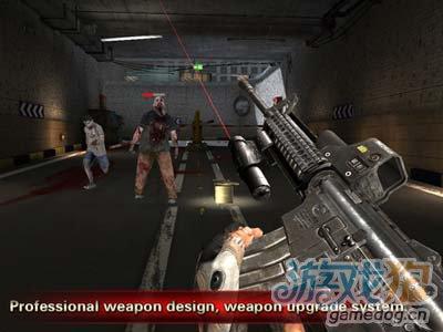 iOS生存射击游戏:行尸走肉复仇之戮 末日求生之路1