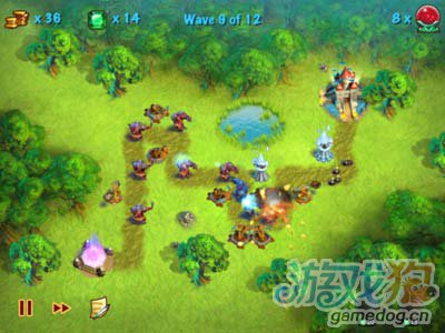 猎魔之塔Towers N'Trolls HD:v2.3评测1