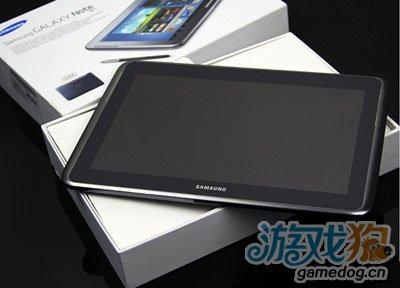 安卓系统最强平板 三星N8000四核1.4GHz