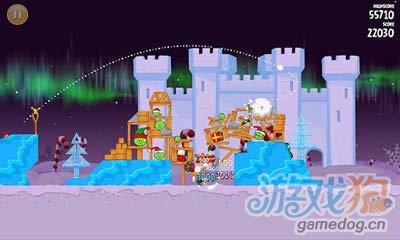 愤怒的小鸟冬季版Angry Birds Seasons:小鸟又来了4