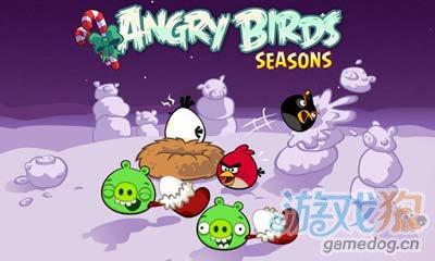 愤怒的小鸟冬季版Angry Birds Seasons:小鸟又来了1