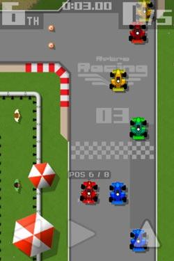 限免推荐:复古赛车Retro Racing 麻雀虽小五脏俱全1