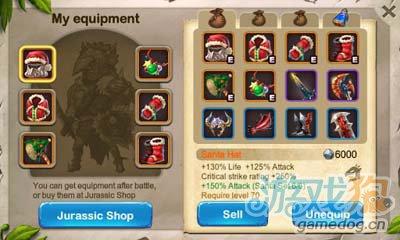 回合制策略游戏:恐龙战争圣诞节版 v1.3.5安卓评测3