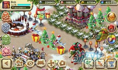 回合制策略游戏:恐龙战争圣诞节版 v1.3.5安卓评测1