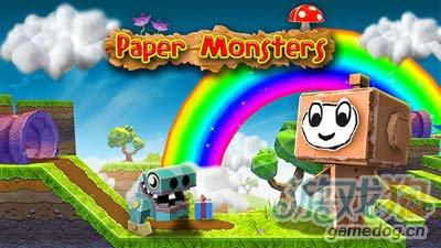 纸片怪兽Paper Monsters:神似马里奥1