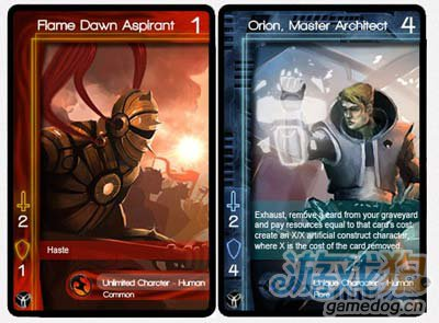 动态交换卡牌游戏Infinity Wars开发进行时中2