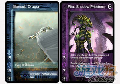 动态交换卡牌游戏Infinity Wars开发进行时中1