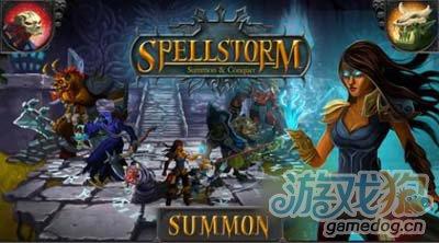 纸牌对战游戏咒语风暴Spellstorm即将上架1
