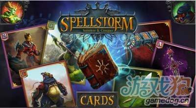 纸牌对战游戏咒语风暴Spellstorm即将上架2