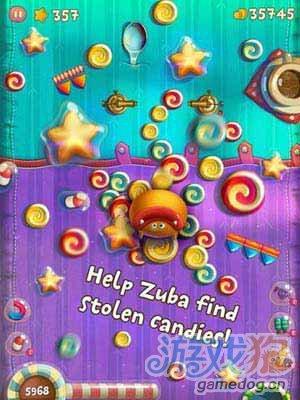 糖果大追捕:糖果世界Zuba! 怪兽快放开那些糖果5